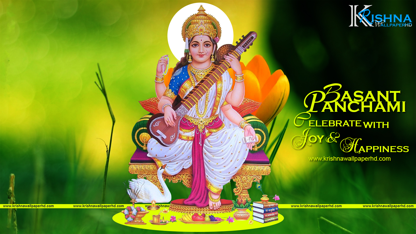 Free Download Basant Panchami Wallpaper