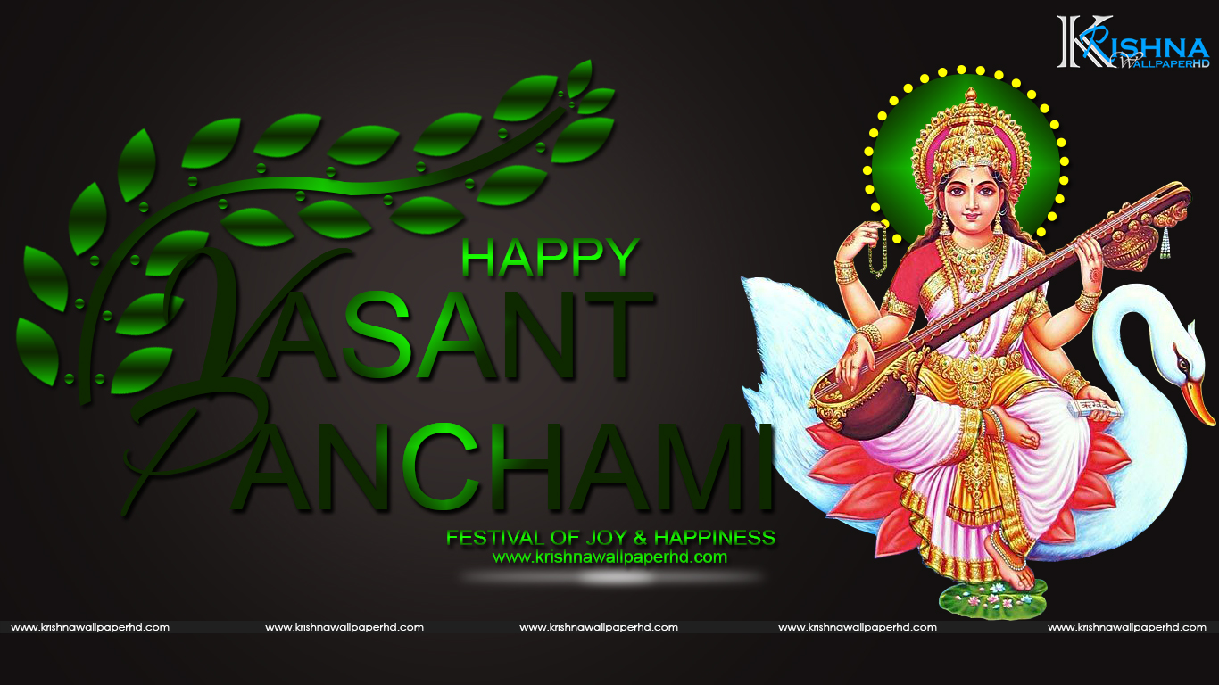 Free Download Basant Panchami HD Wallpaper