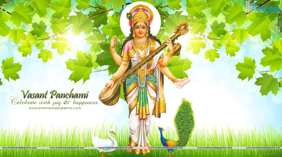 Free Download Basant Panchami Full HD Wallpaper