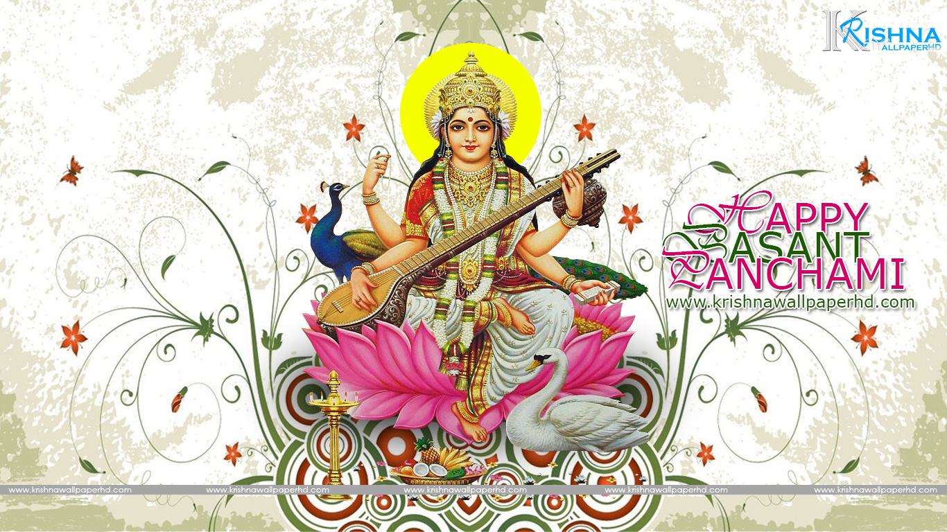 Happy Basant Panchami Wallpaper