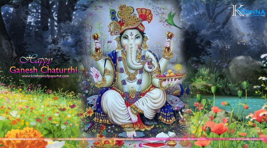 Happy Ganesh Chaturthi Wallpaper Download