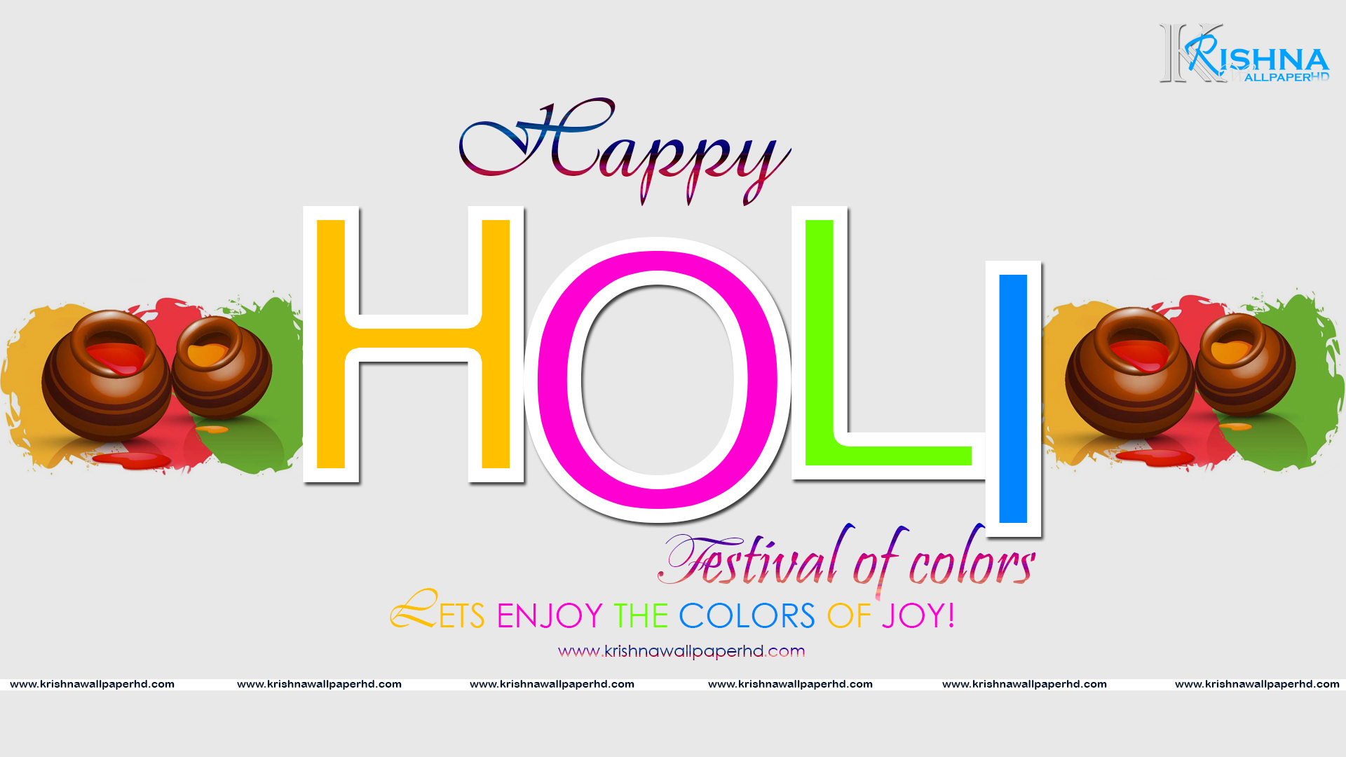 Happy Holi Wallpaper 2018 HD