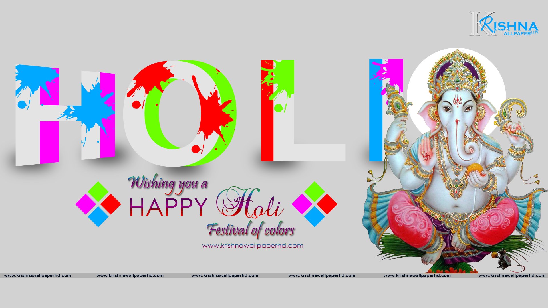 Holi Wallpaper Photo HD