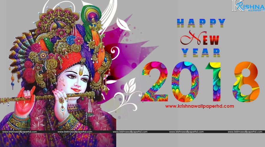 New Year Greeting Wallpaper