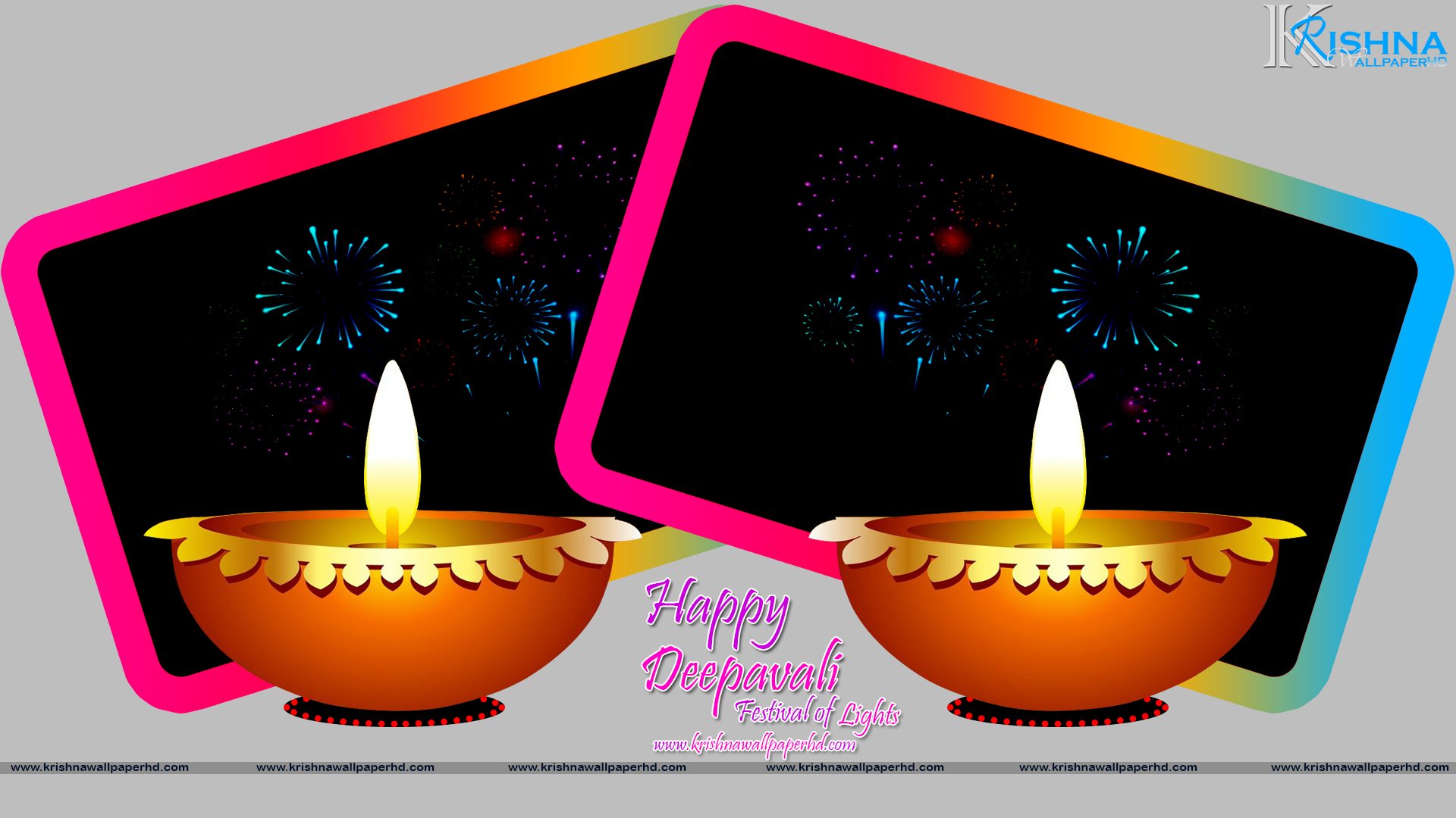 Free Download Happy Deepavali Full HD Size Wallpaper