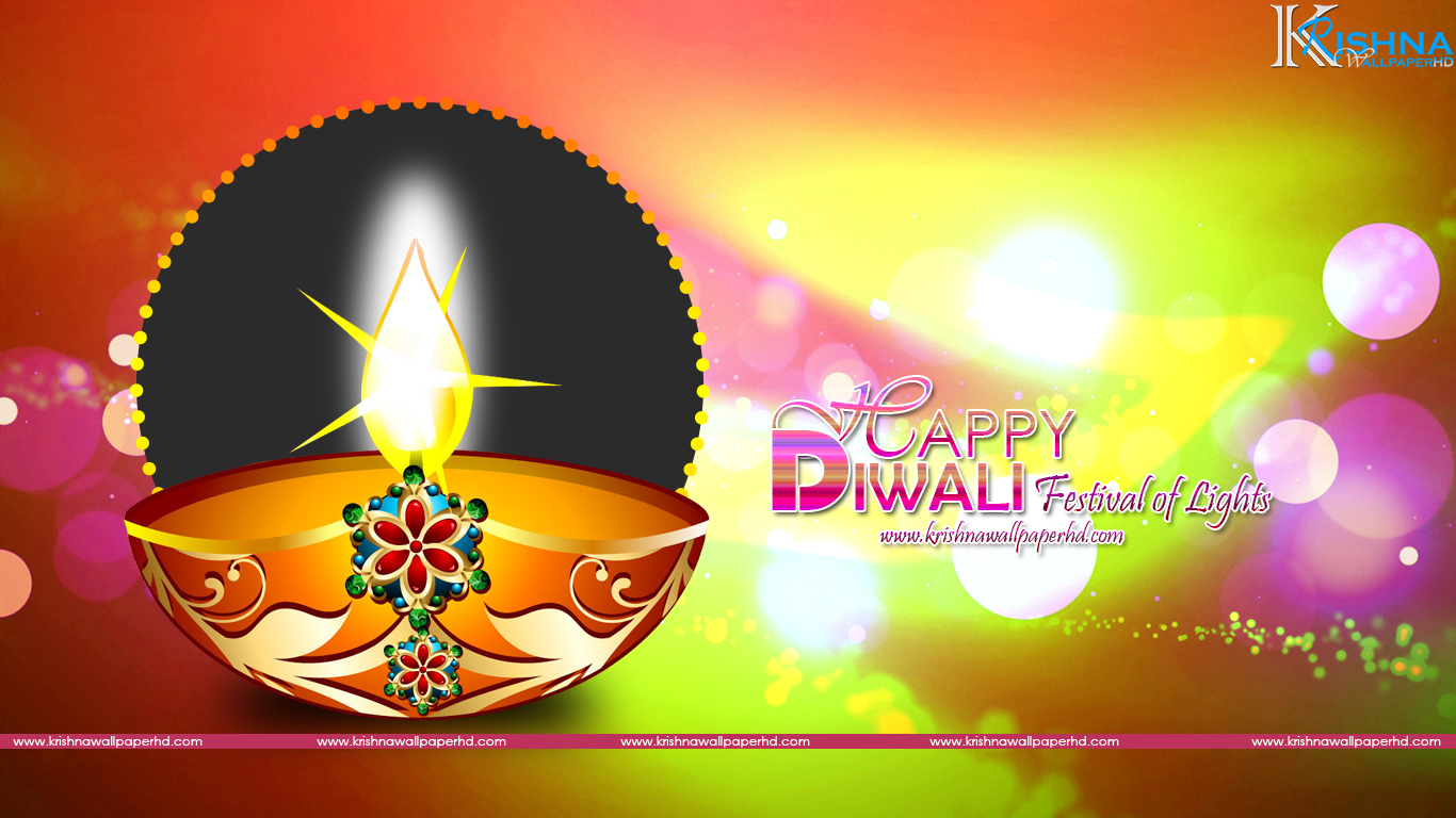 Happy Diwali Background HD Wallpaper