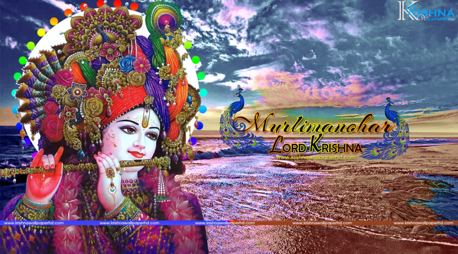 Free Download Murlimanohar Lord Krishna Wallpaper