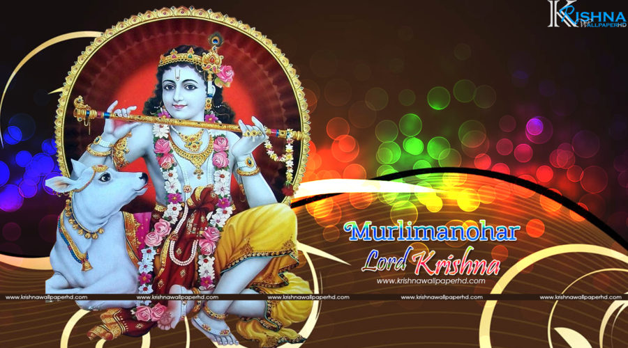 Murlimanohar Lord Krishna Wallpaper