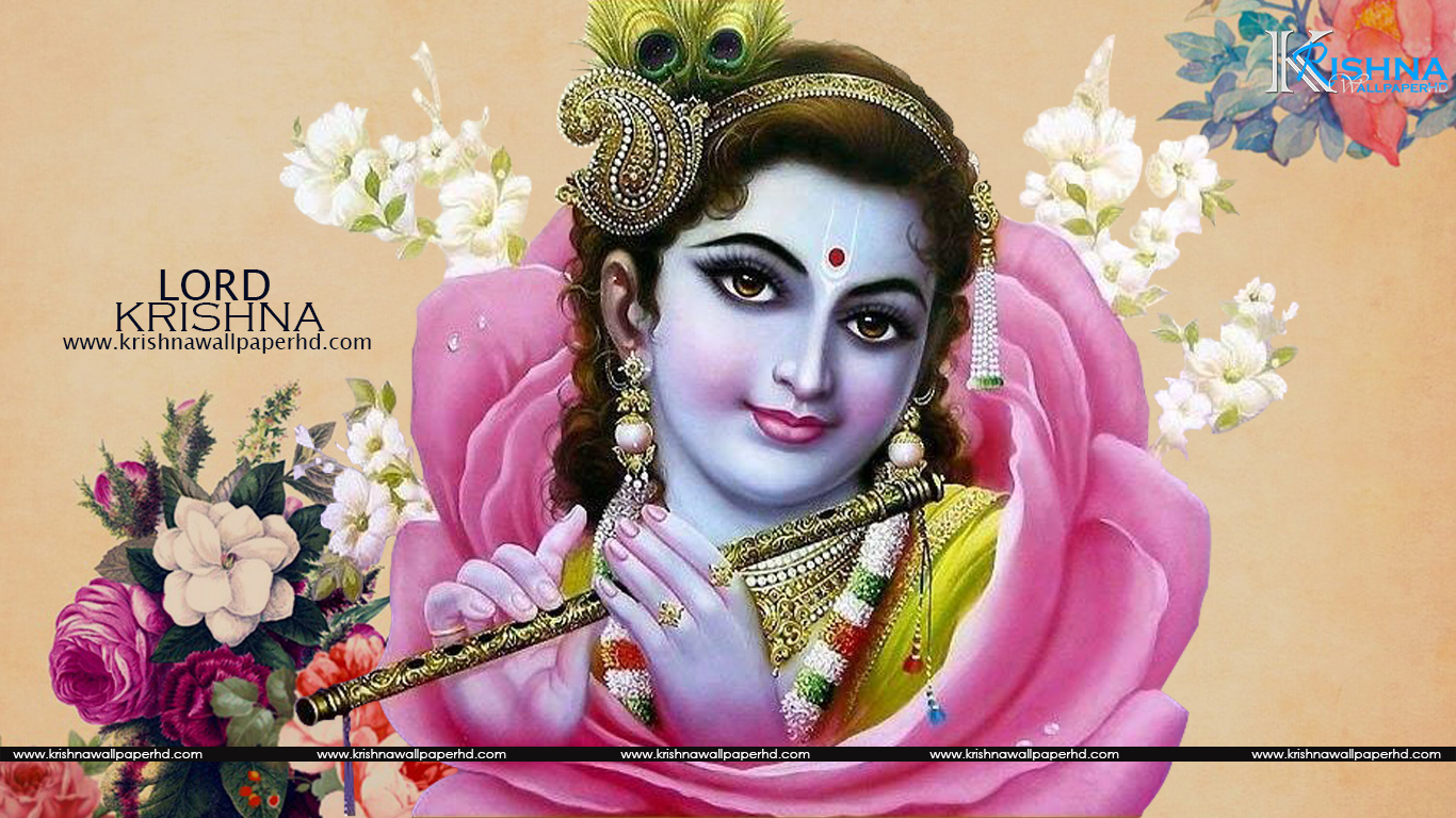 Free Download Beautiful Lord Krishna HD Wallpaper