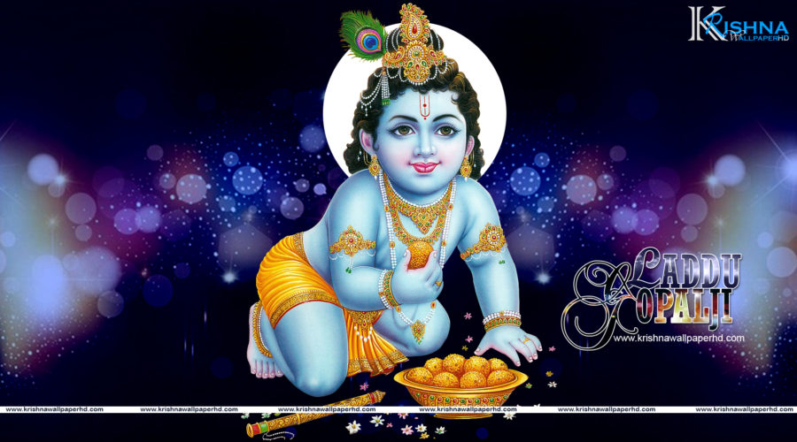 Free Download Laddu Gopal Ji Full HD Size Wallpaper