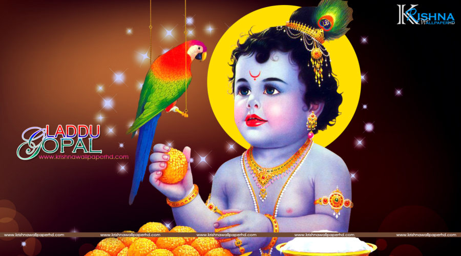 Laddu Gopal HD Wallpaper