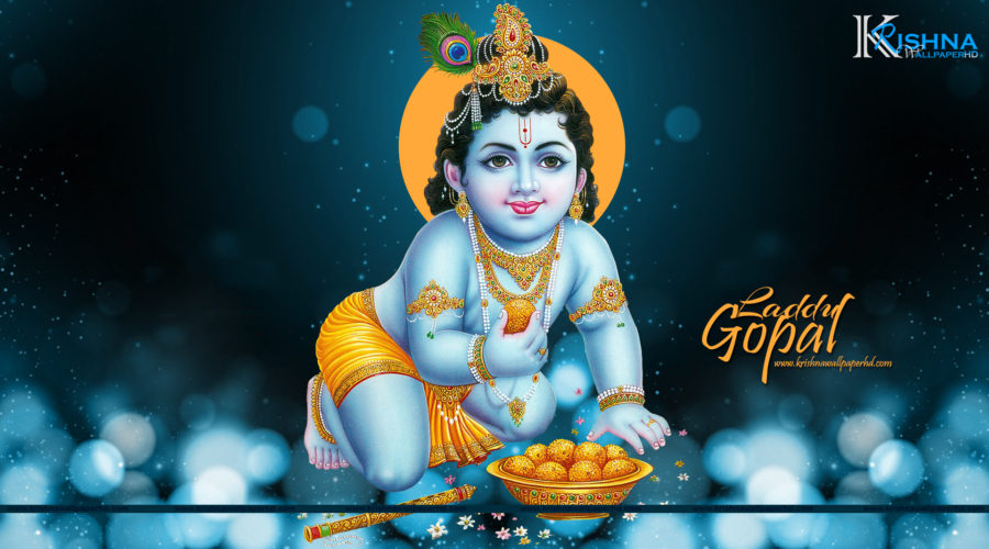 Laddu Gopal Full HD Size Wallpaper Free Download