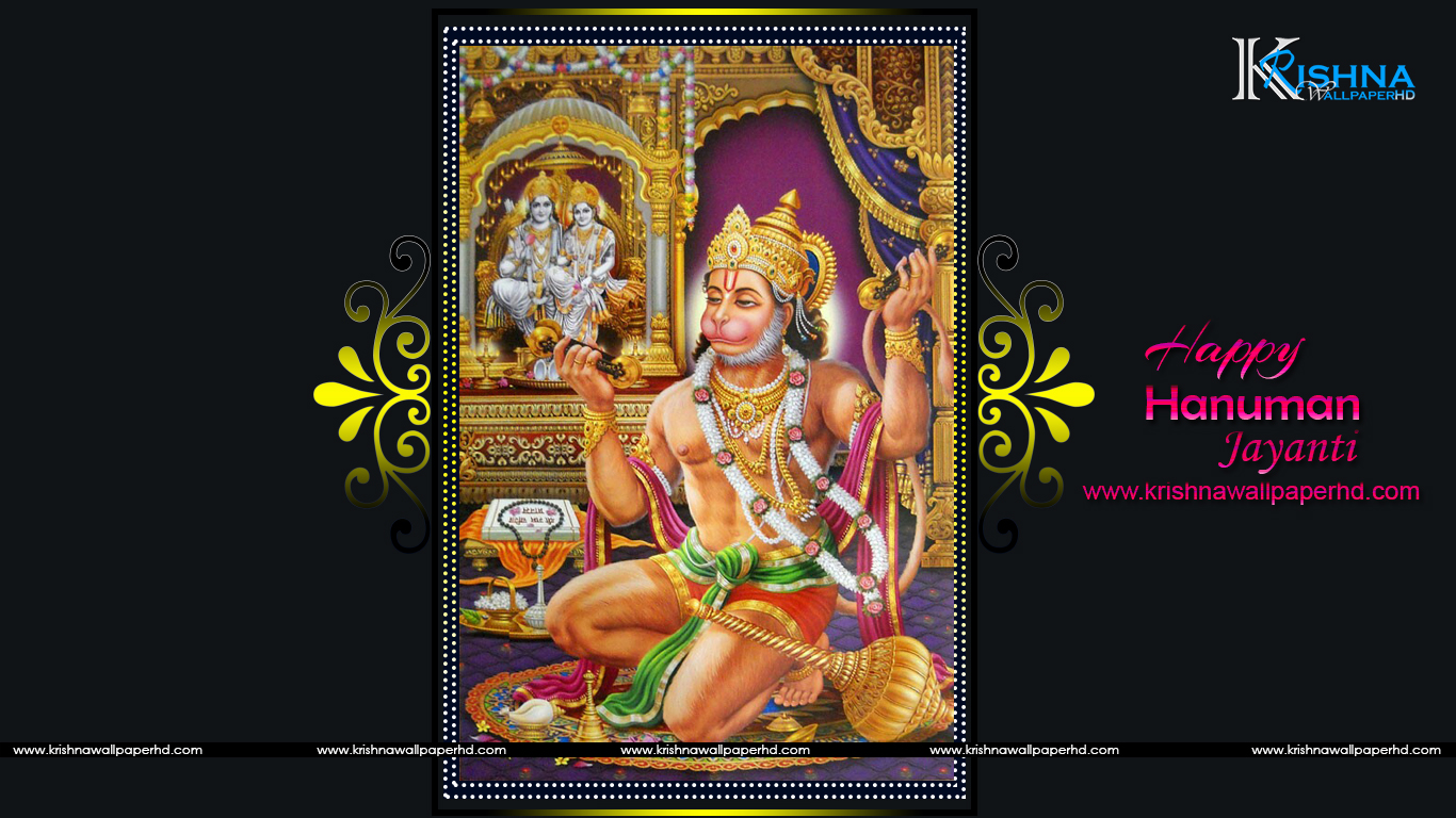 Happy Hanuman Jayanti Wallpaper