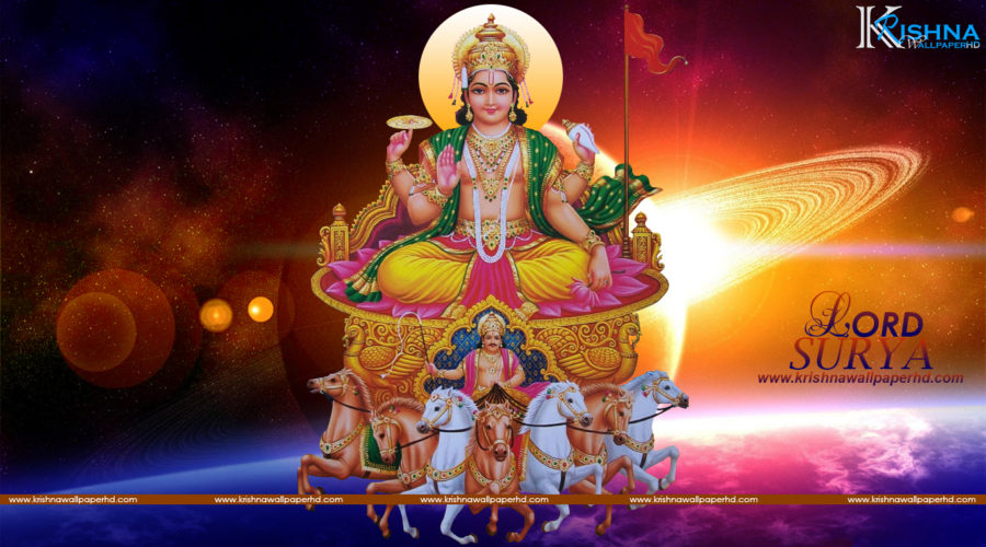Free Download Lord Surya Image