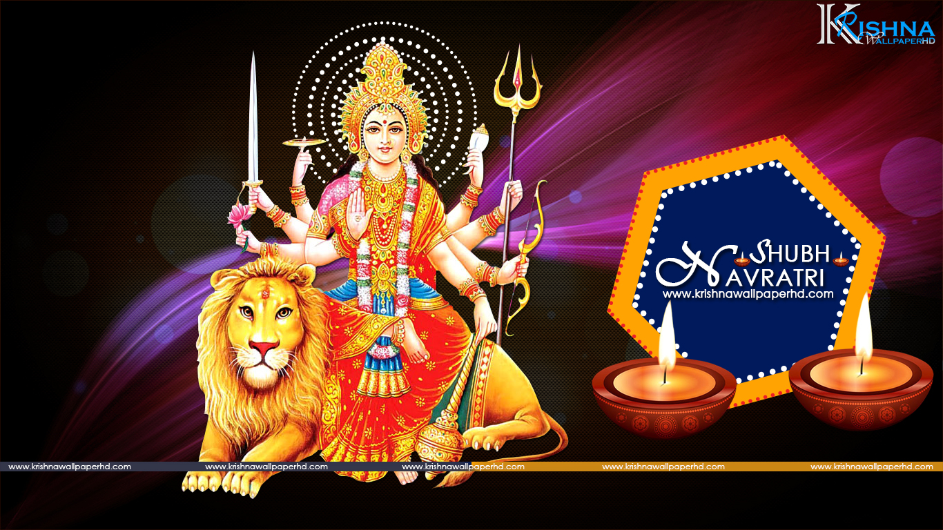 Free Download Shubh Navratri HD Wallpaper