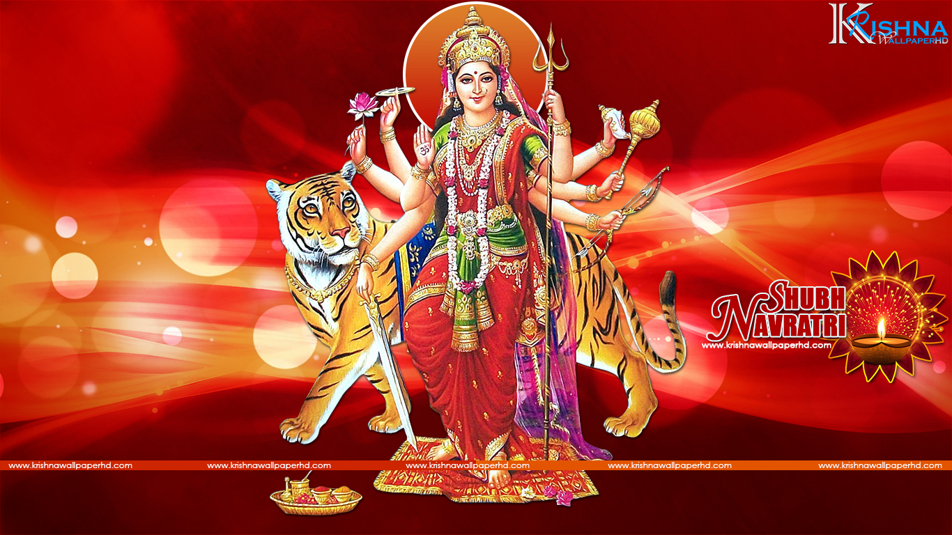 Shubh Navratri HD Wallpaper Download