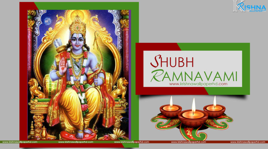 Shubh Ramnavami HD Wallpaper