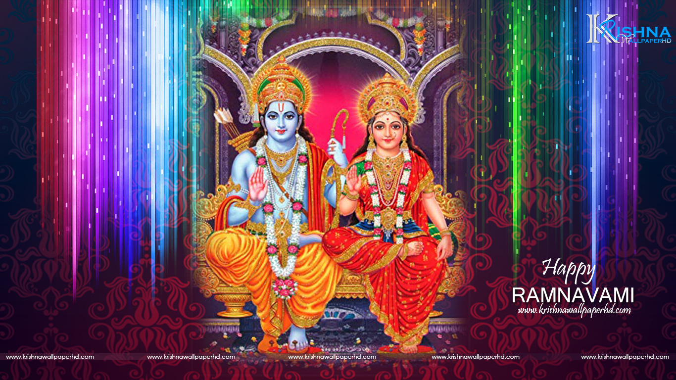 Happy Ramnavami HD Wallpaper