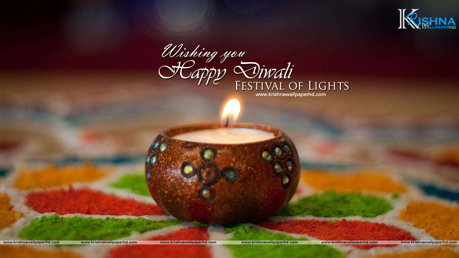 Wallpaper of Happy Diwali Free Download