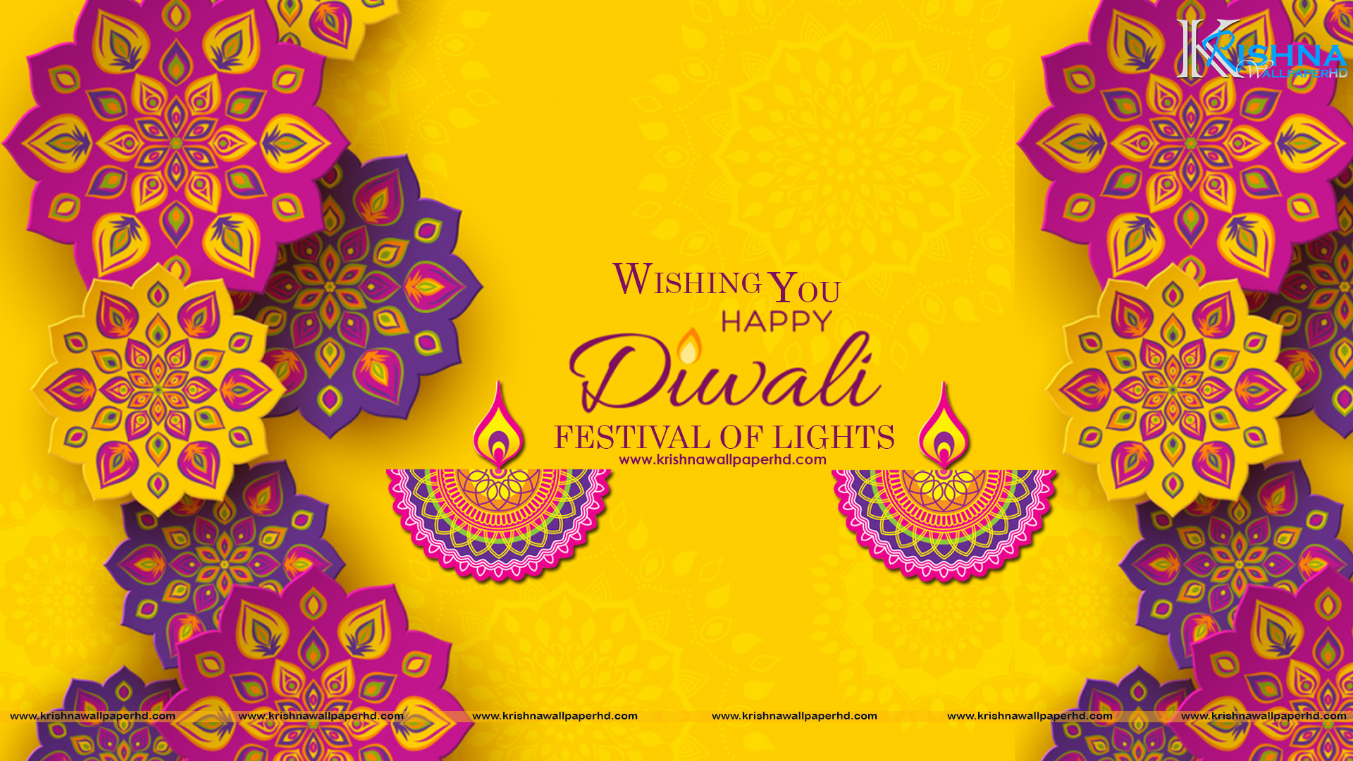 Free Download Happy Diwali Full HD Background