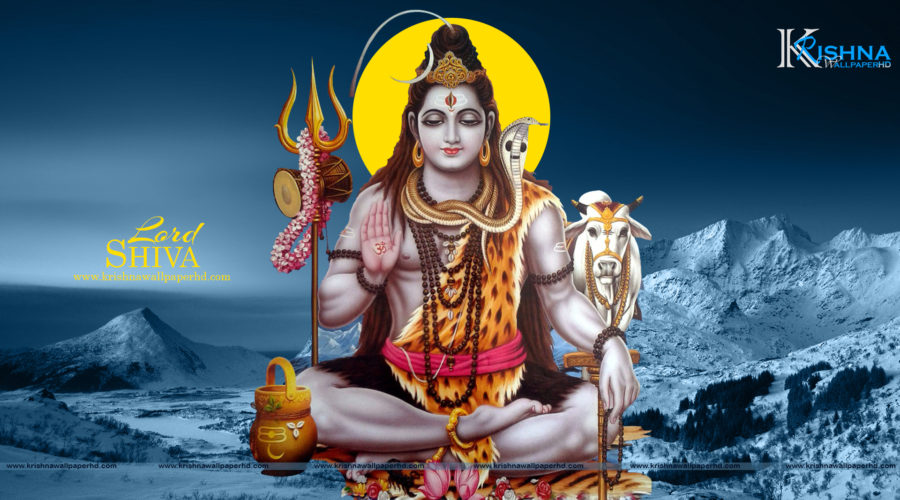 Full HD Size Wallpaper of Lord Shiva Free Download