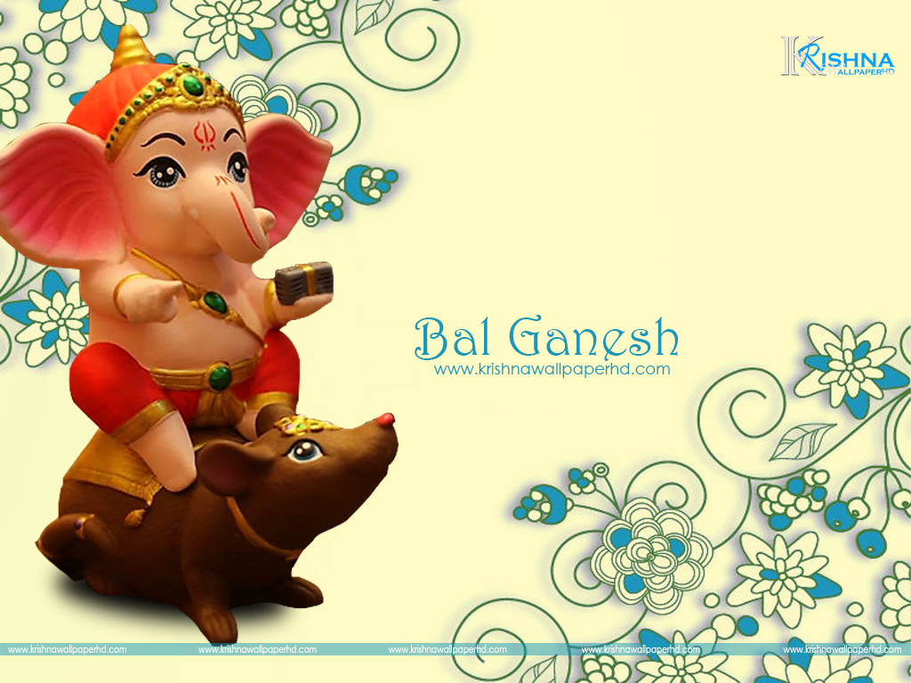Bal Ganesh Wallpaper Download Free