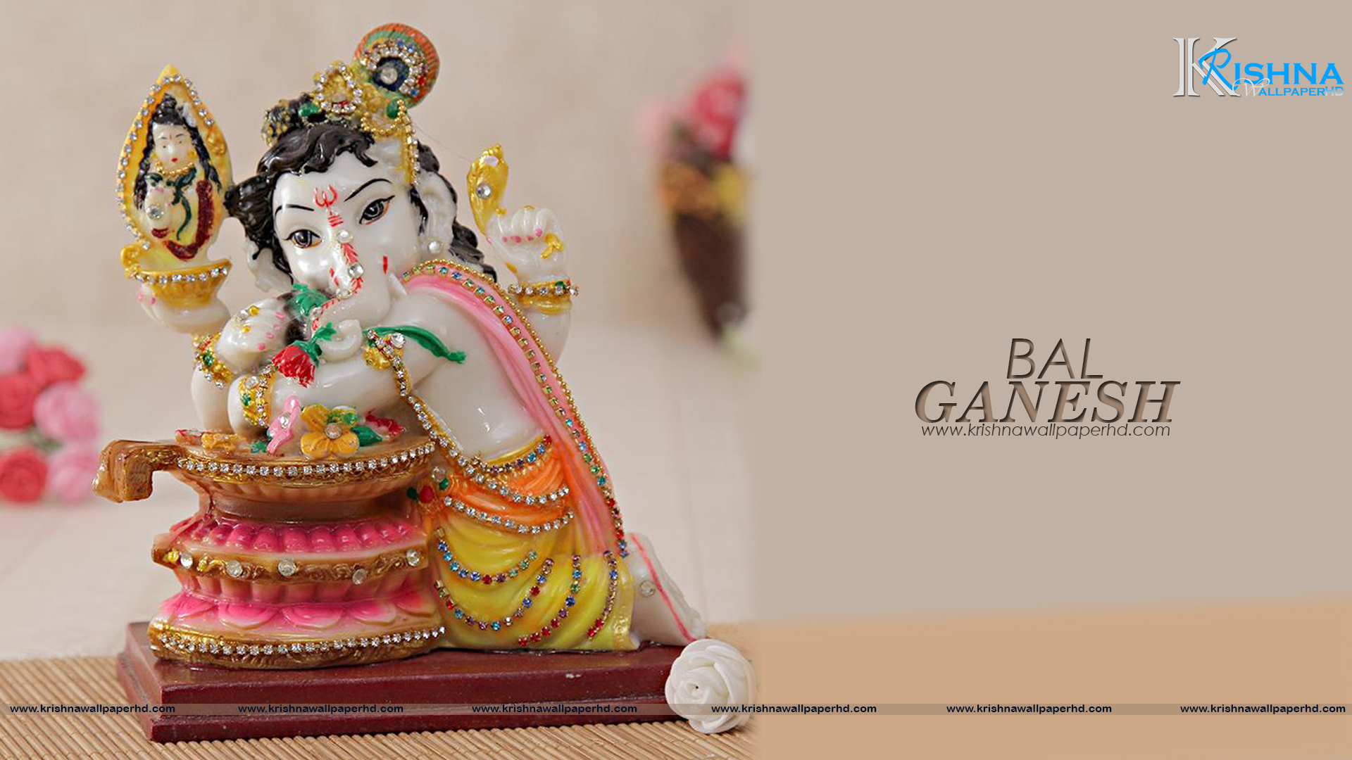 Free Download Bal Ganesh Full HD Size Wallpaper