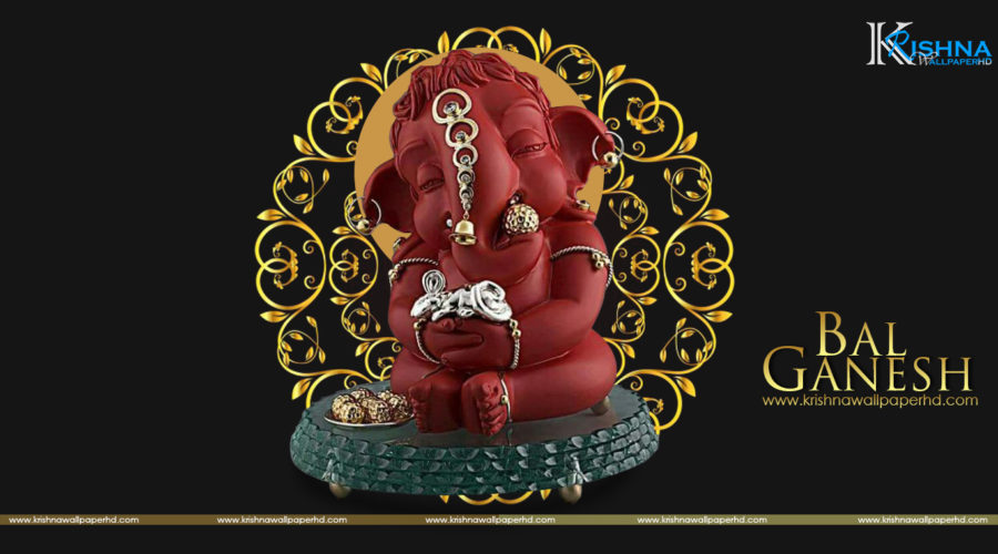 HD Wallpaper of Bal Ganesh Free Download