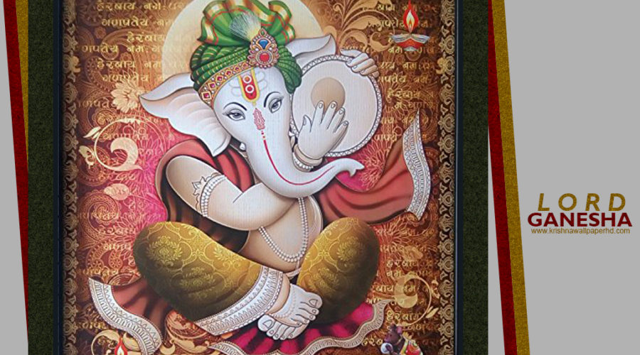 Beautiful Photo of Lord Ganesha Free Download