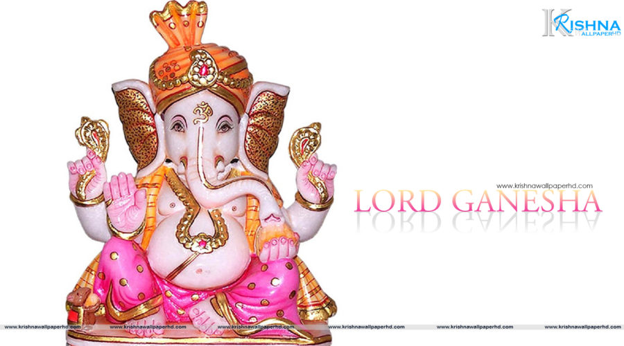 Full HD Size Wallpaper of Lord Ganesha Free Download