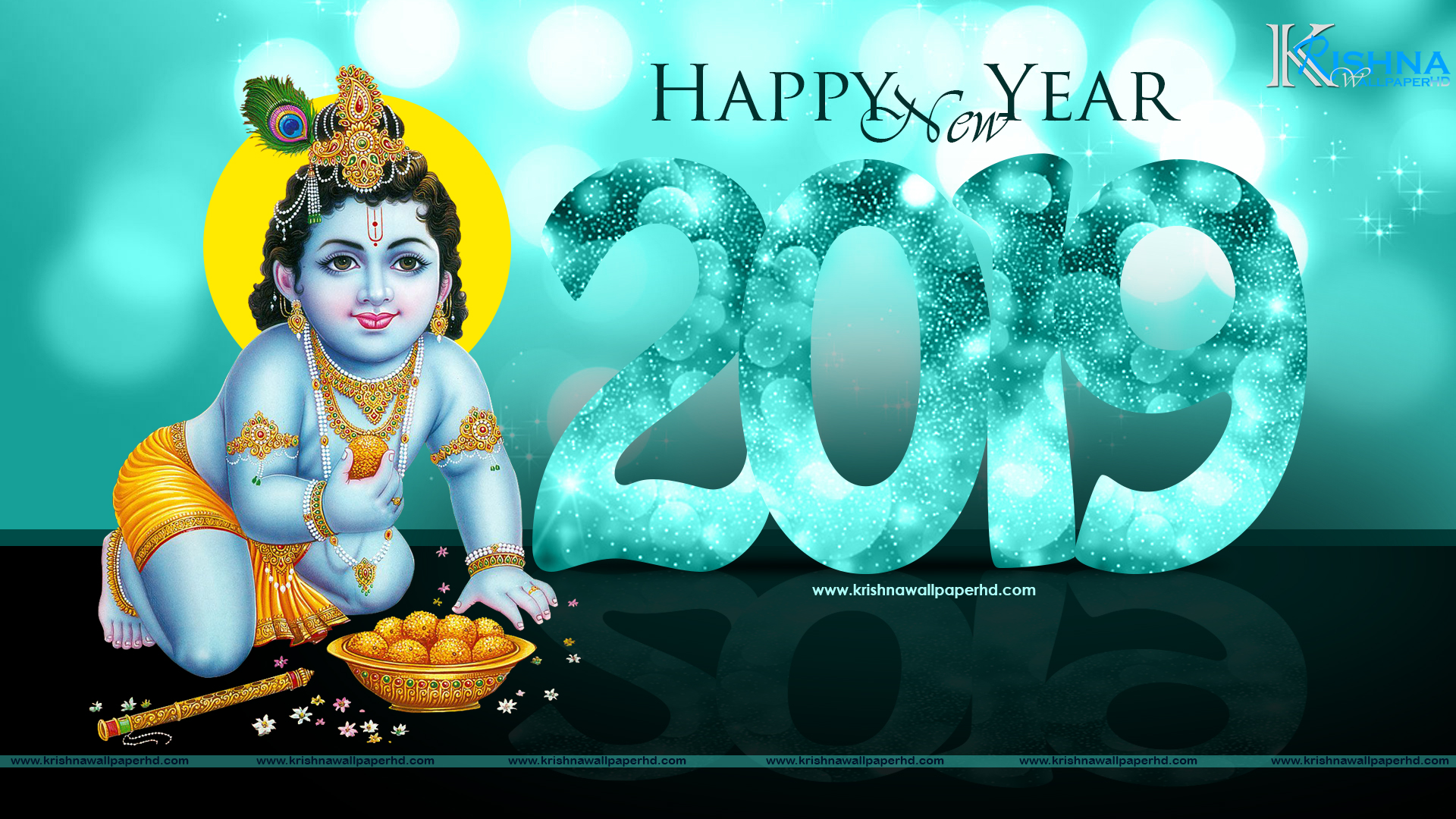 Full HD Size Wallpaper of New Year 2019 Free Download