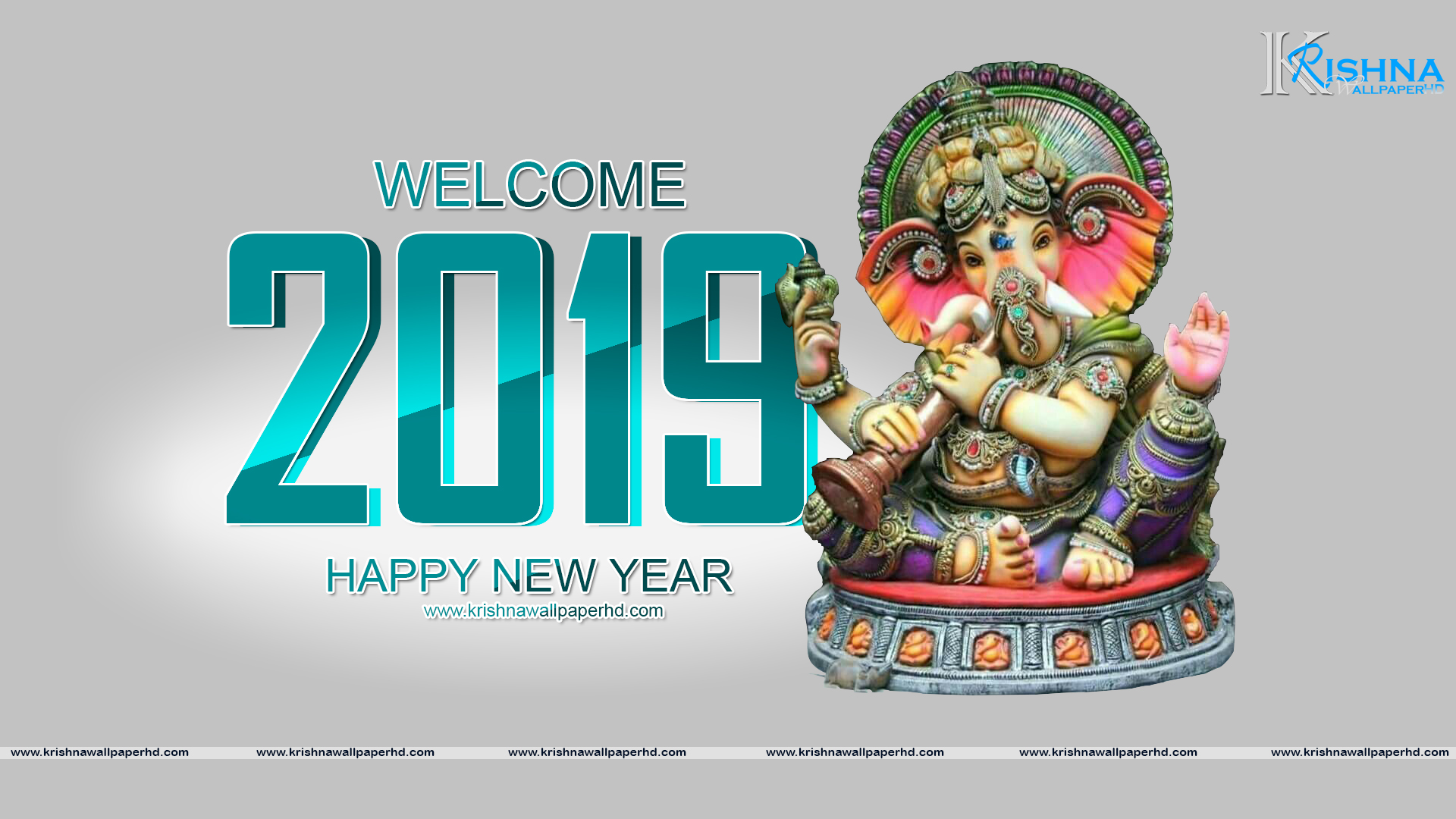 HD Happy New Year 2019 Image Free Download