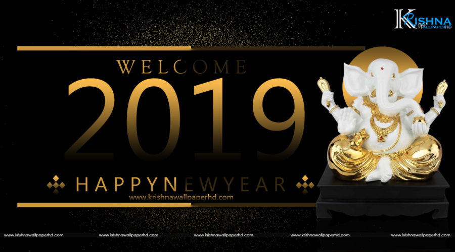 Happy New Year 2019 HD Wallpaper Free Download