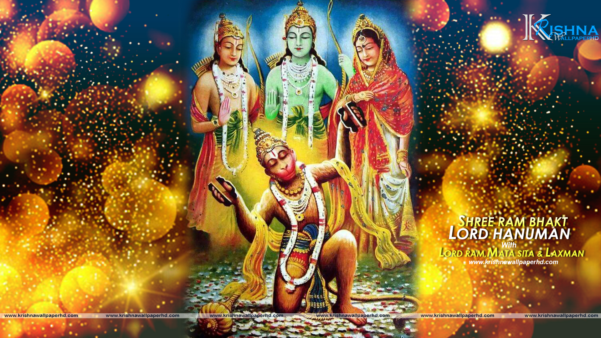 HD Wallpaper of Lord Hanuman Free Download