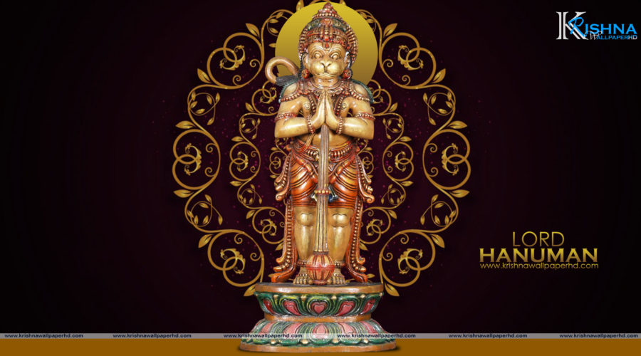 Statue Wallpaper of Lord Hanuman in Full HD Size Free Download