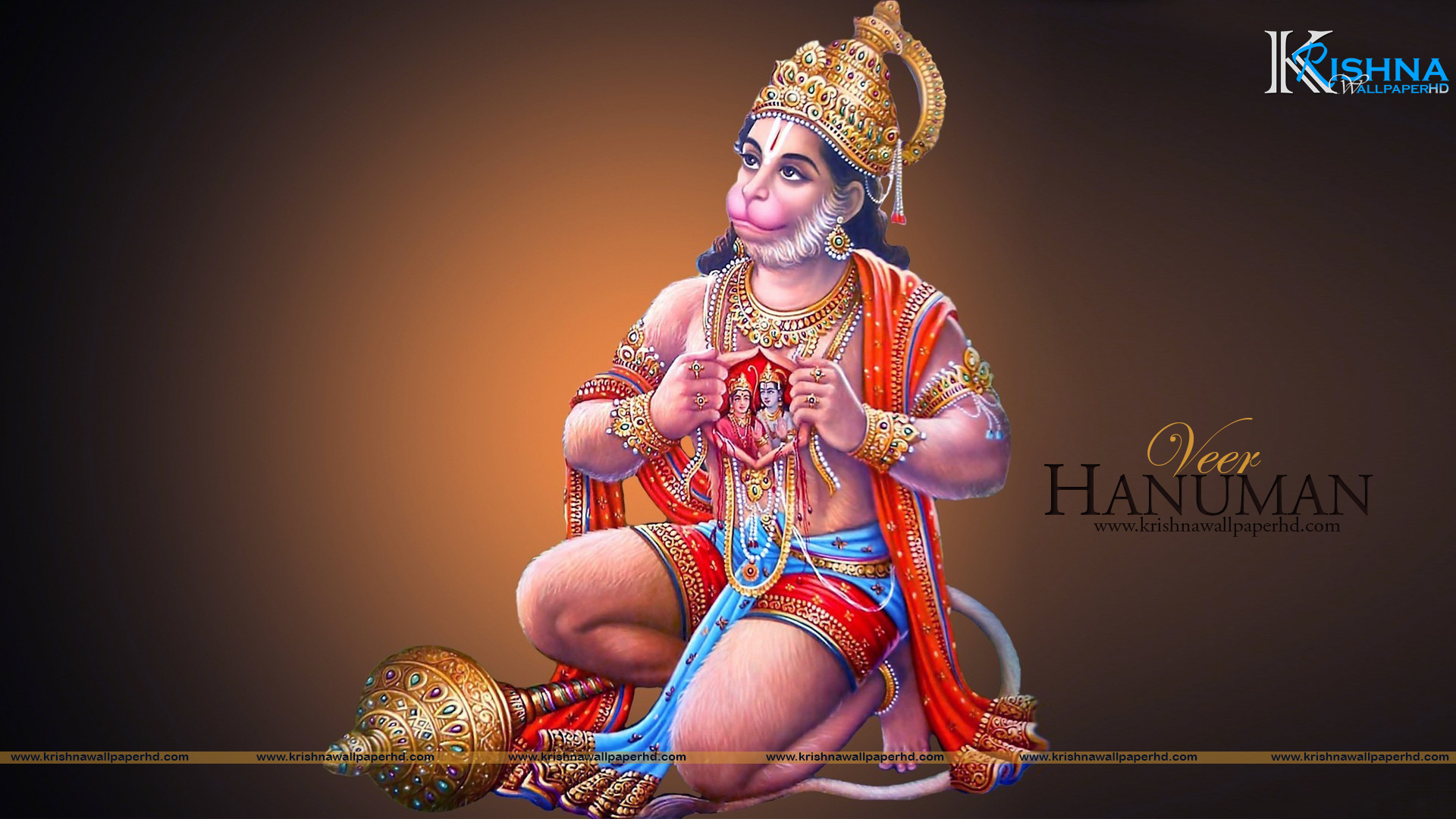 Veer Hanuman HD Wallpaper Free Download