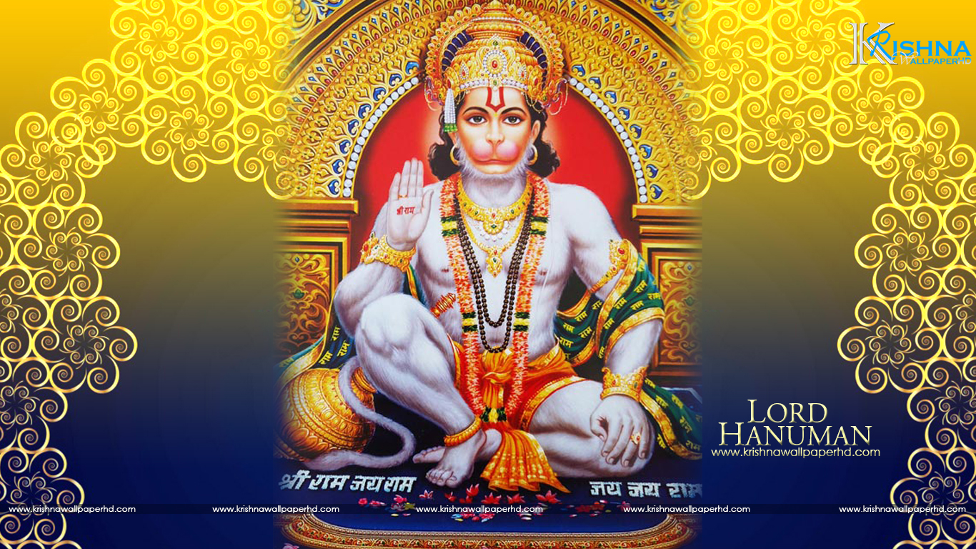 Wallpaper of Lord Hanuman in HD Free Download