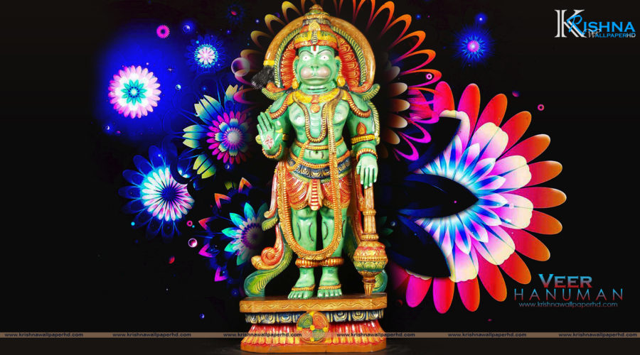 Statue Wallpaper of Veer Hanuman in Full HD Size Free Download