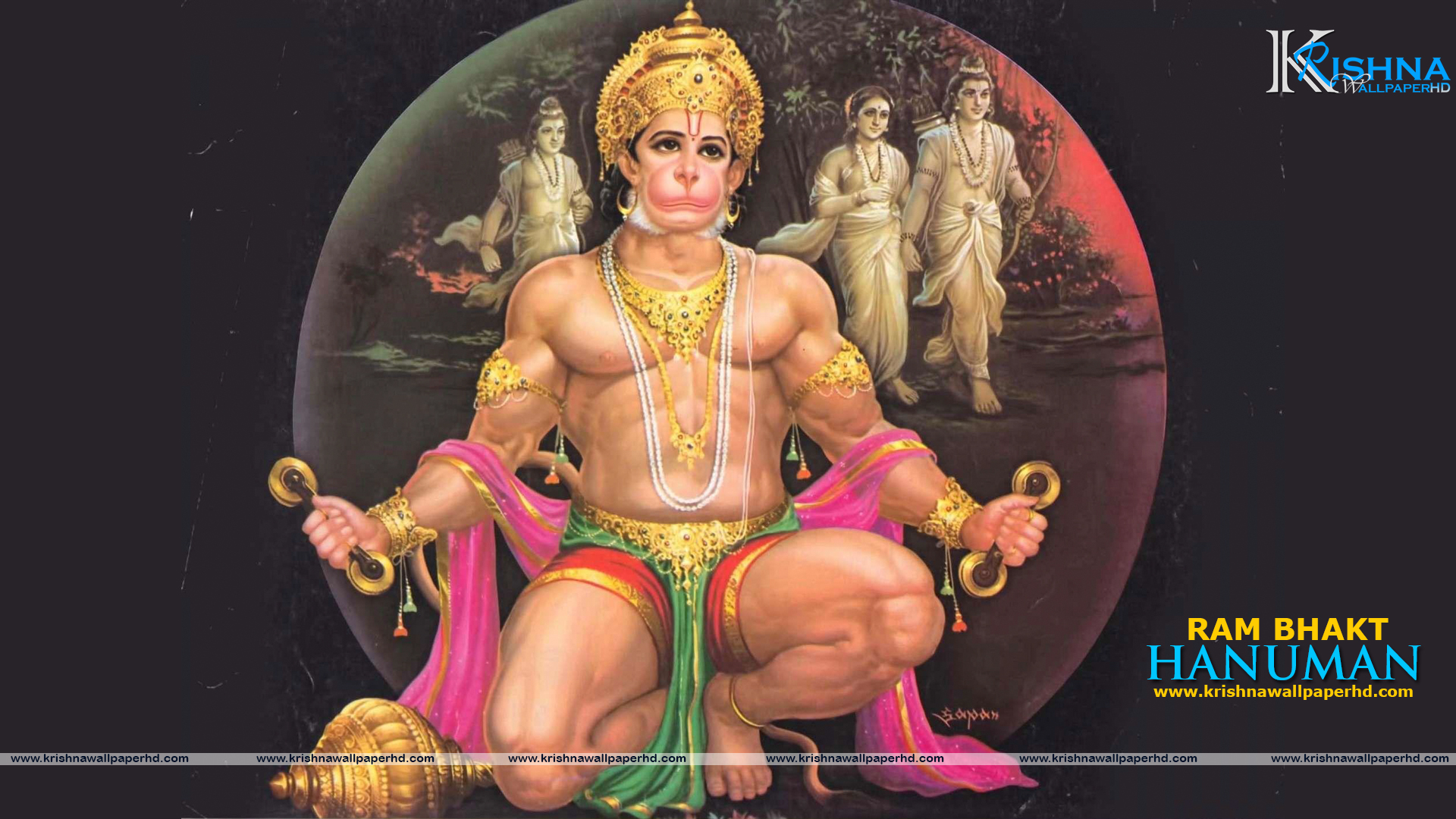Full HD Wallpaper of Lord Hanuman Free Download
