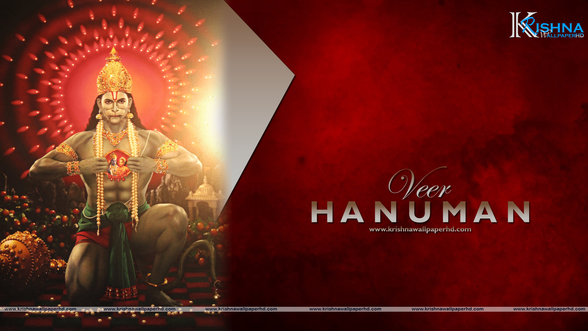 Wallpaper of Veer Hanuman in Full HD Size Free Download