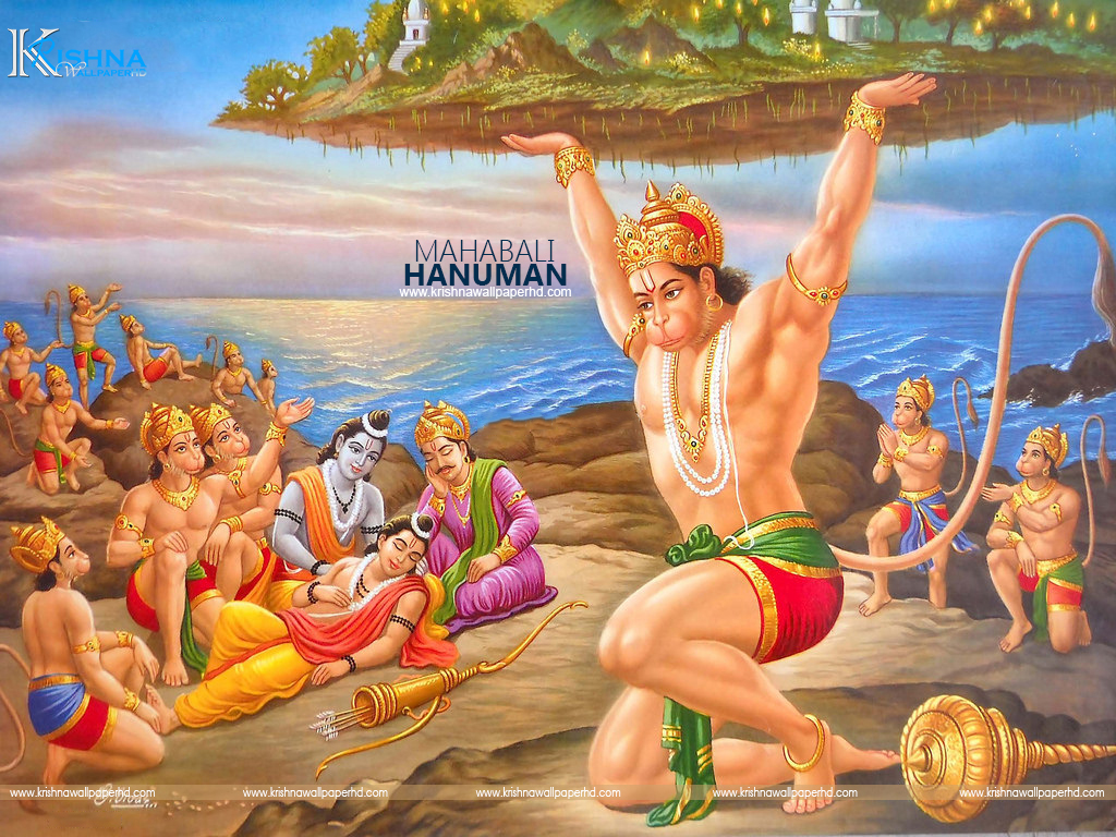 Mahabali Hanuman Photo Free Download