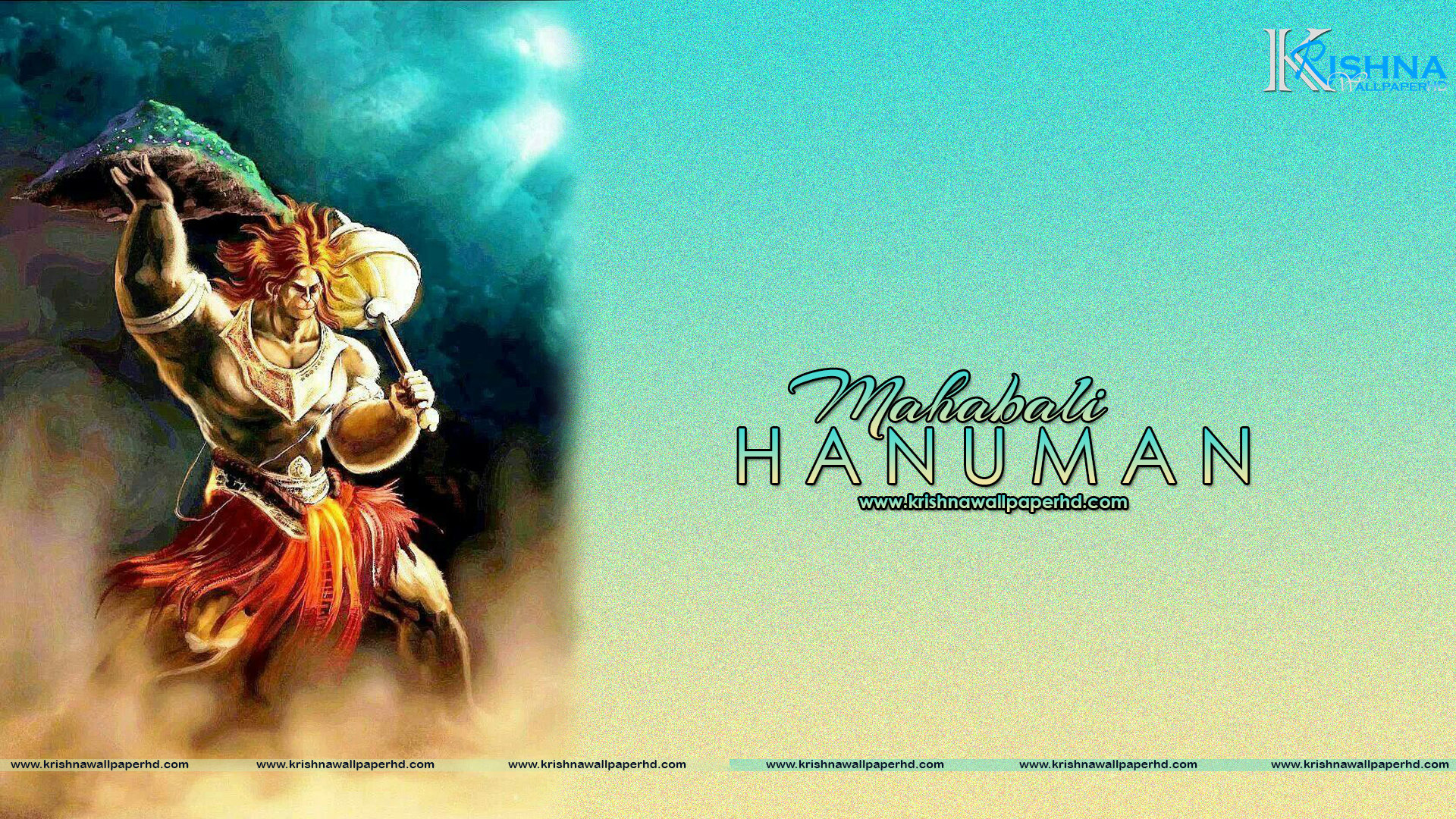 Full HD Size Wallpaper of Mahabali Hanuman Free Download