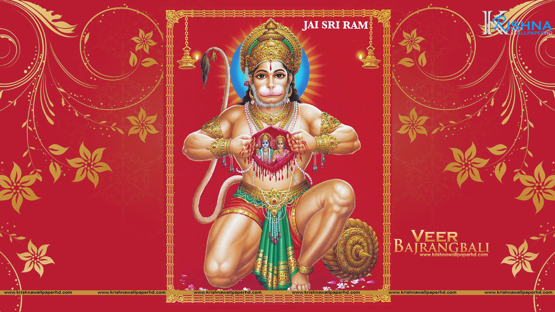 Full HD Size Wallpaper of Veer Bajrangbali Free Download