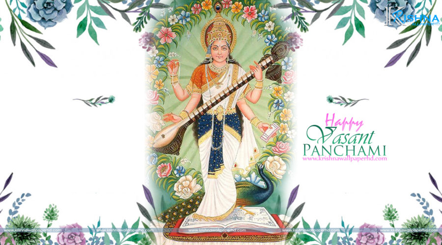 Happy Vasant Panchami HD Wallpaper Free Download