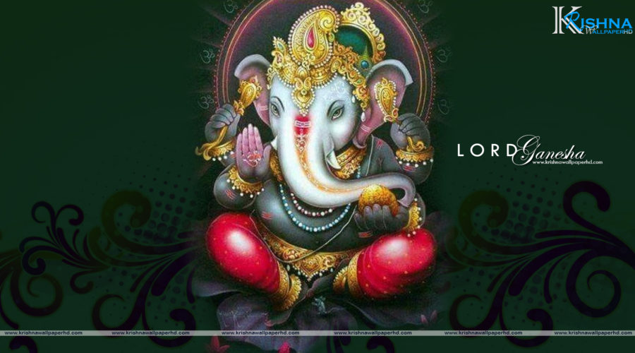 Wallpaper of Lord Ganesha in Full HD Size Free Download