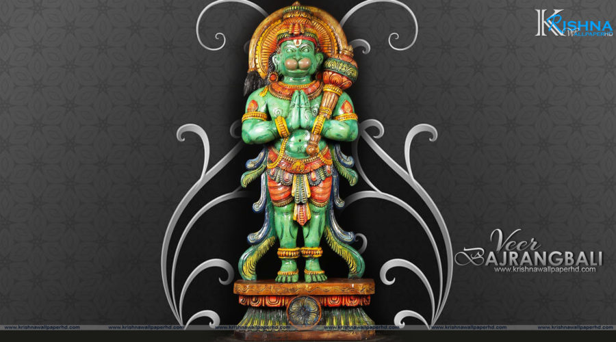 Statue Wallpaper of Veer Bajrangbali in Full HD Size Free Download