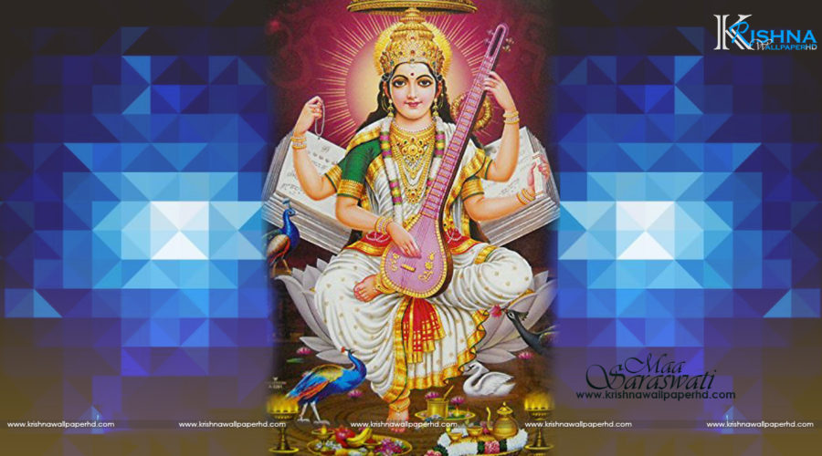 Maa Saraswati Photo Free Download