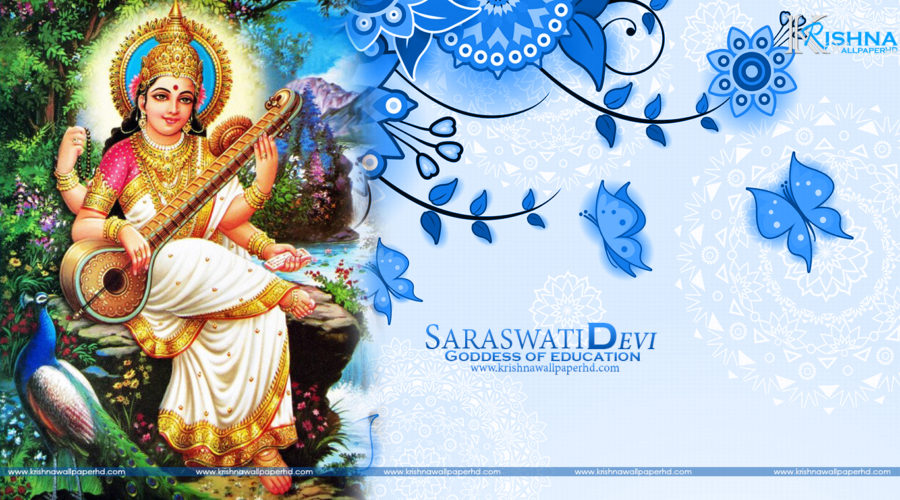 Saraswati Devi Wallpaper Free Download