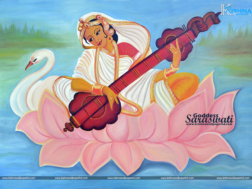 Goddess Saraswati Photo Free Download