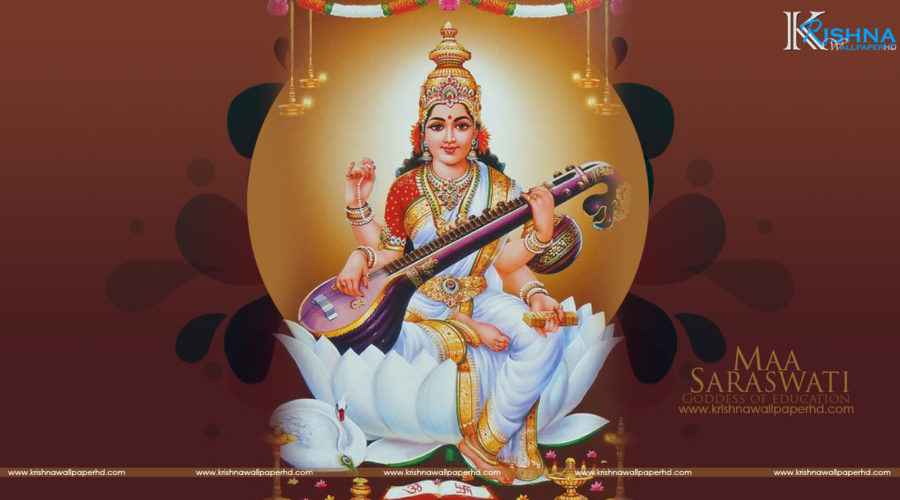 Saraswati Puja Wallpaper Free Download